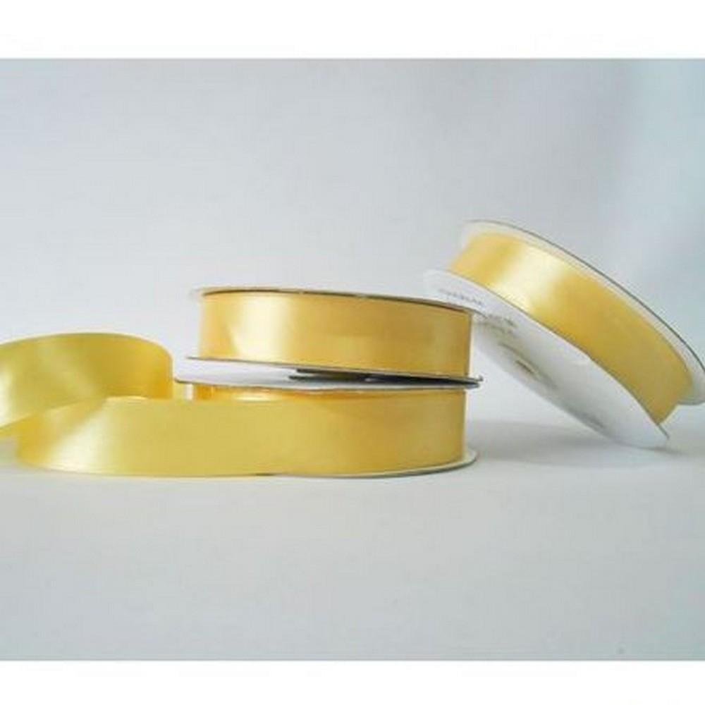 Nastro doppio raso 25 mm rotolo bobina da 50 mt Oro fai da te art D2525