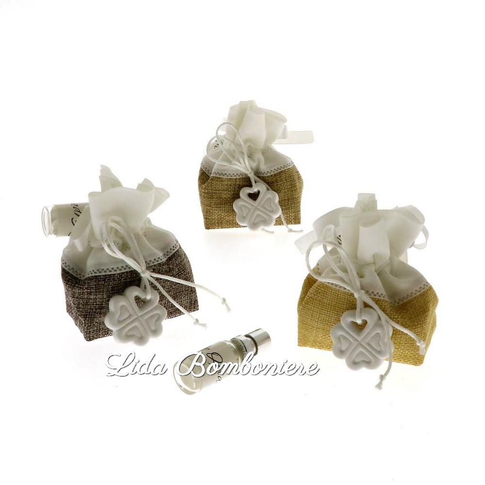 Matrimonio Tema Quadrifoglio : Quadrifoglio bomboniere matrimonio confetteria bon bon